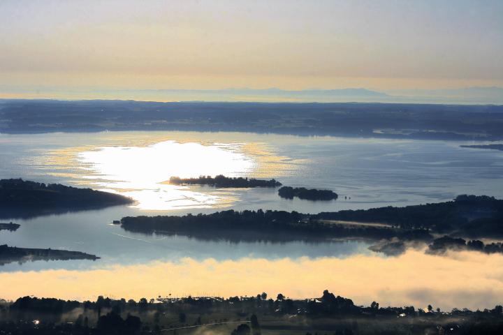Das Wattenmeer - Dahinter die Inseln