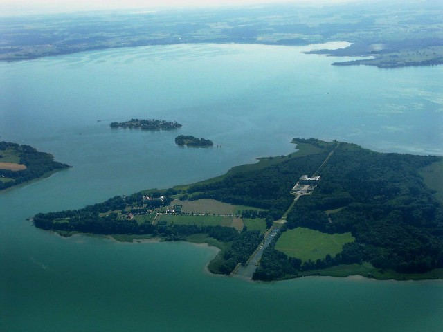 Herreninsel, Krautinsel, Fraueninsel