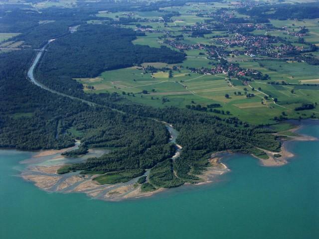 Delta der Tiroler Achen
